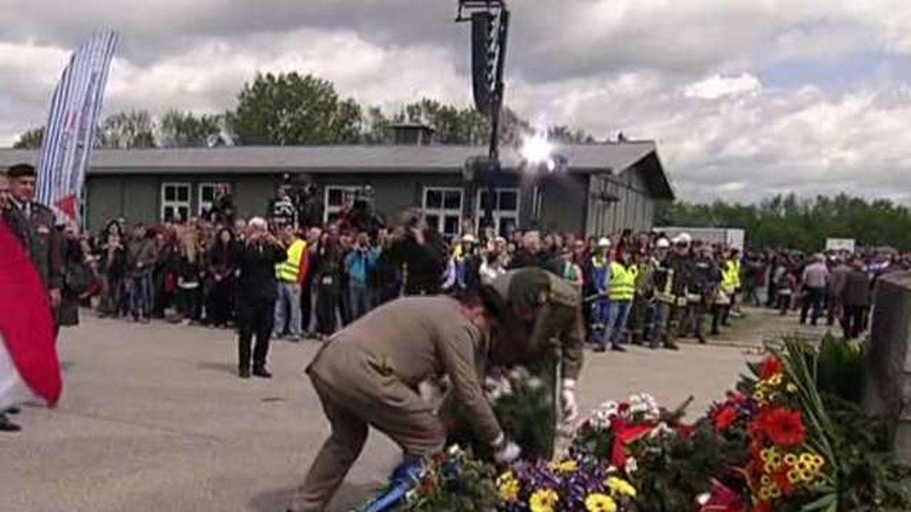 Margallo representa a España en los actos por el  70 aniversario de la liberación de Mauthausen