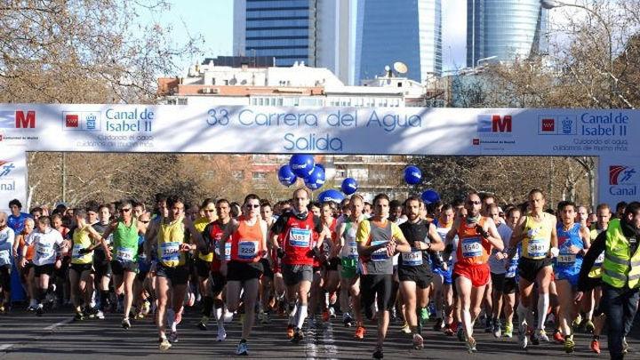 Más de 6.000 corredores participarán en la 37 edición de La Carrera del Agua