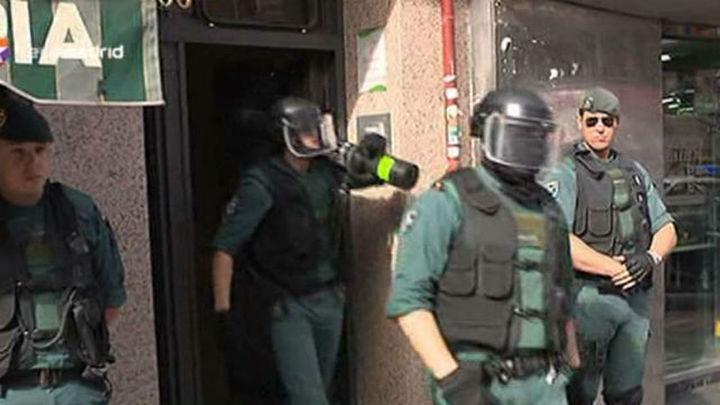 Al menos, 25 detenidos en una operación contra el blanqueo de capitales en Madrid