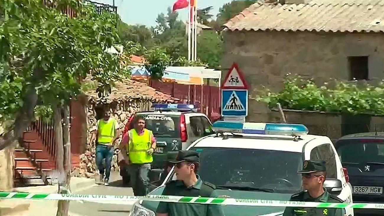 La Guardia Civil libera al niño de dos años retenido en Colmenar de Arroyo