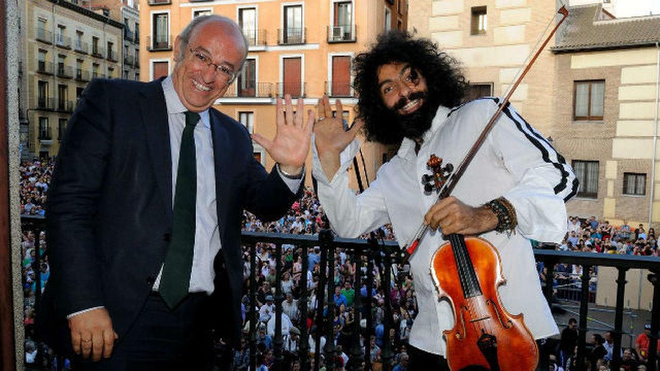 El violinista Ara Malikian abre las fiestas de San Isidro con su pregón