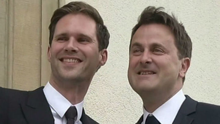 El primer ministro de Luxemburgo contrae matrimonio con un arquitecto belga