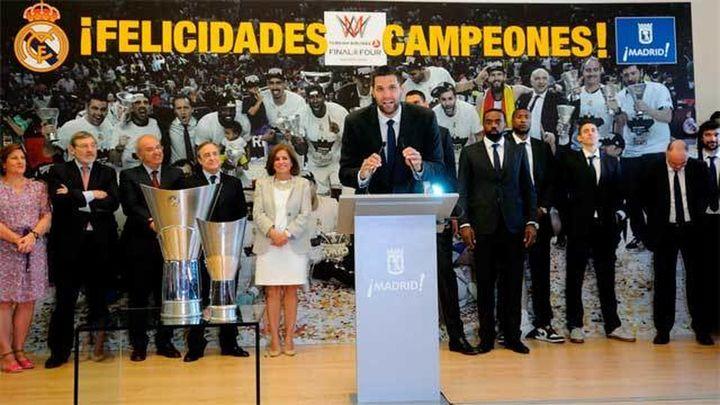 El Real Madrid ofrece la 'Novena' a los madrileños