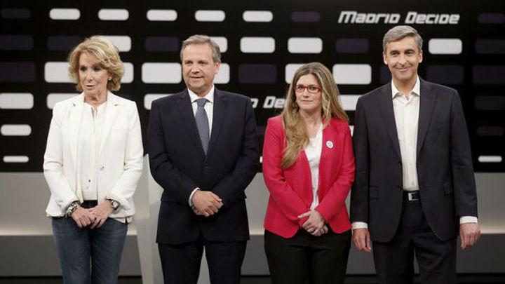 PSOE, IU y UPyD reprochan la corrupción a Aguirre, que promete transparencia