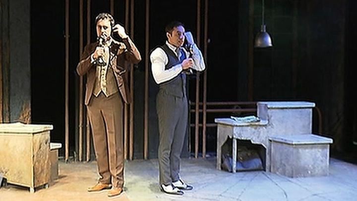 El musical 'Excítame: el crimen de Leopold y Loeb' regresa a Madrid