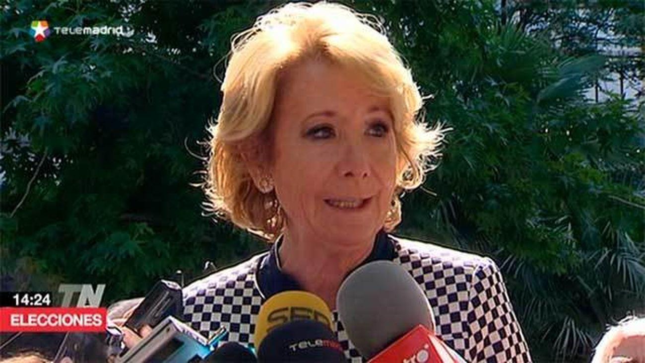 Aguirre quiere un Madrid verde con jardines en azoteas y cubiertas de aparcamientos