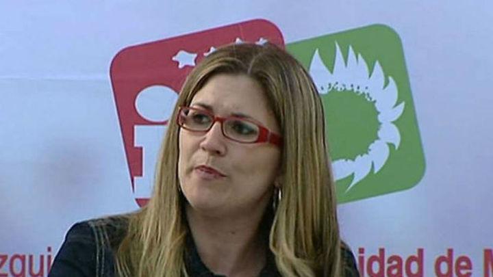 """Raquel López: """"IU es imprescindible para impedir que Aguirre sea alcaldesa"""""""
