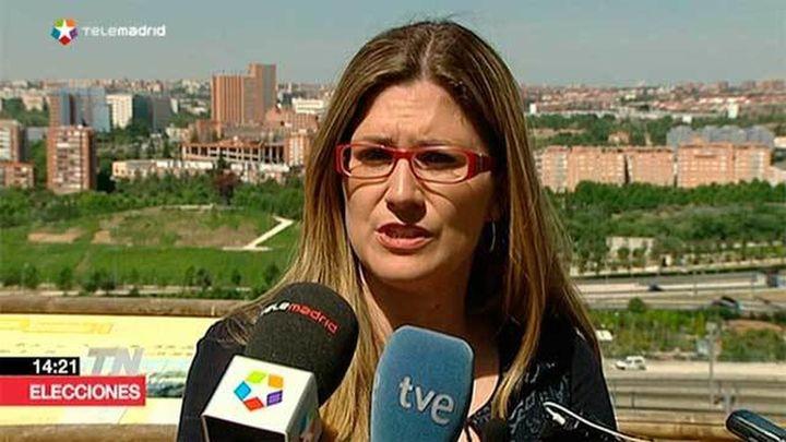 """Raquel López quiere una 'Operación Chamartín sur' para romper la """"brecha"""" que implica Abroñigal"""