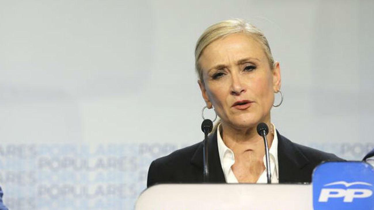 Entrevista a Cristina Cifuentes, candidada del PP a la Comunidad de Madrid