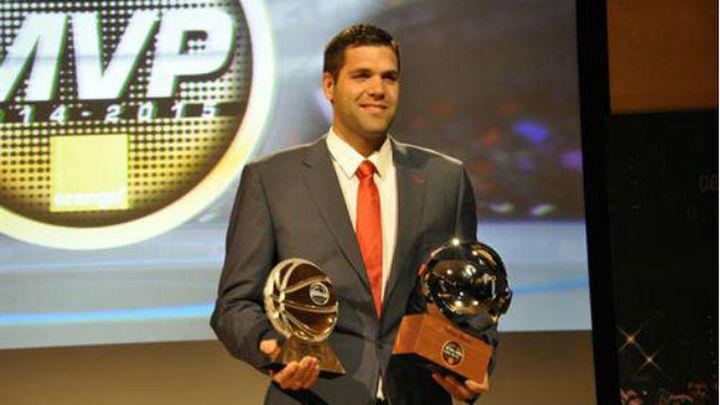 Felipe Reyes, MVP de la Liga ACB