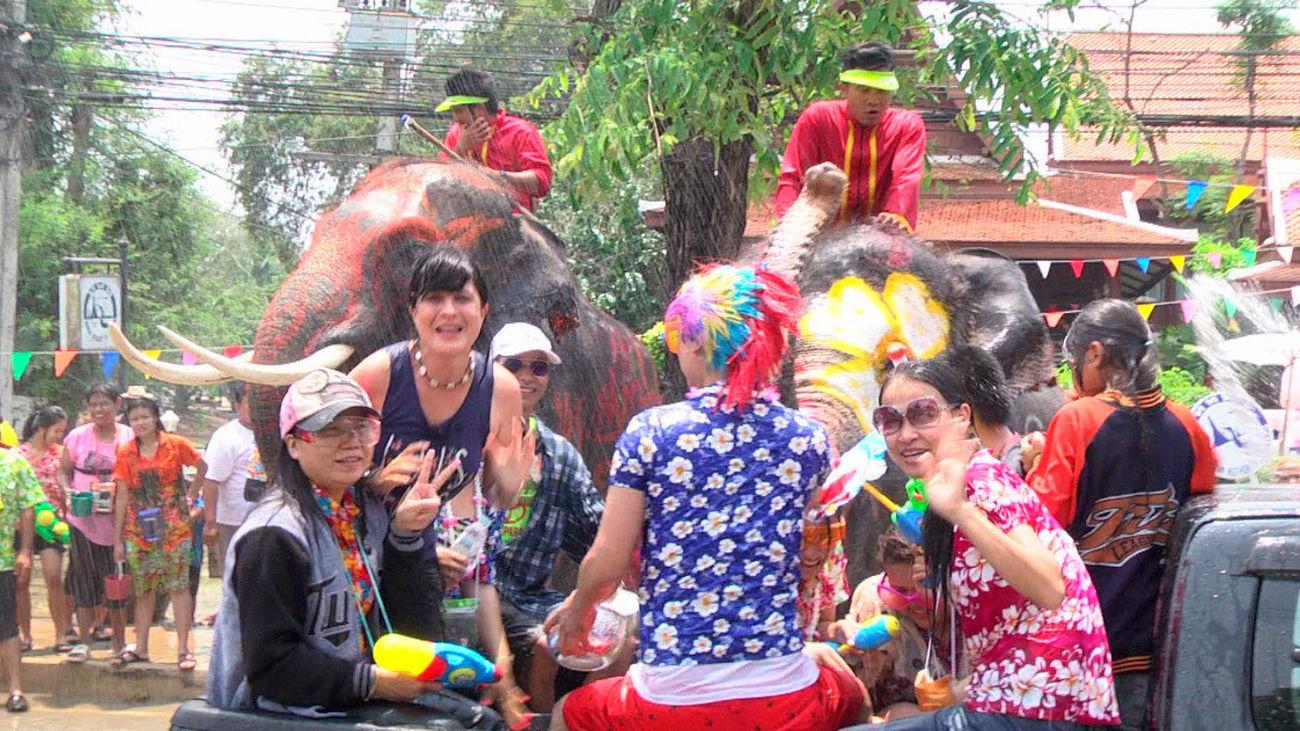 Songkran: El año nuevo tailandés