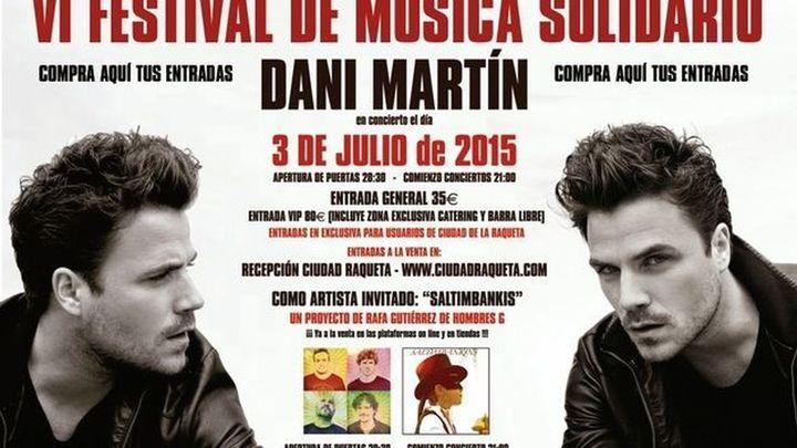 El Festival de la Raqueta 2015 contará con Dani Martín y Maldita Nerea entre otros