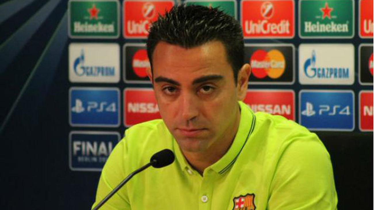 """Xavi justifica la pitada al himno: """"Se debería valorar el porqué de los pitos"""""""