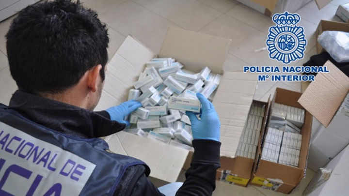 Cuatro detenidos por distribuir anabolizantes en Madrid