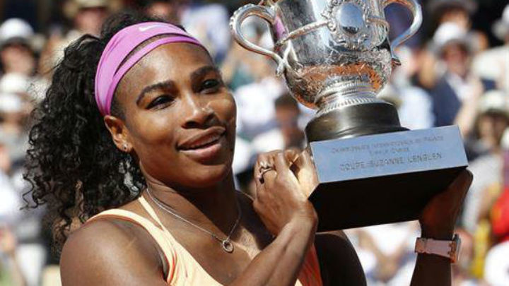 Serena levanta su tercer Roland Garros