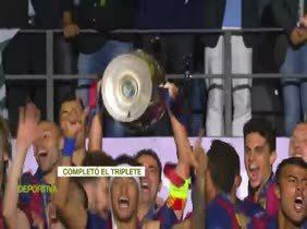 3-1. El Barça sucede al Real Madrid como campeón de la Champions