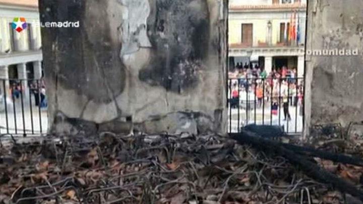 Brunete aclara que el incendio no arrasó material que afecte a la gestión municipal