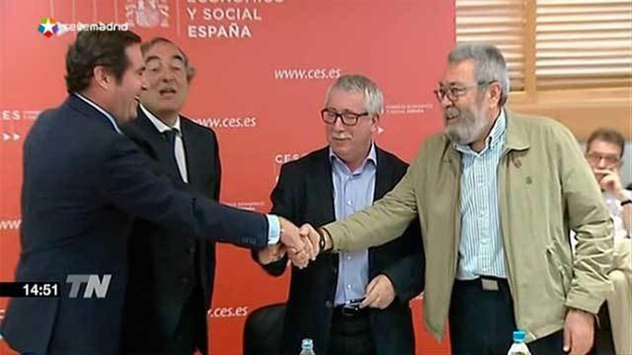 Sindicatos y patronales firman el acuerdo salarial con discrepancias sobre su aplicación