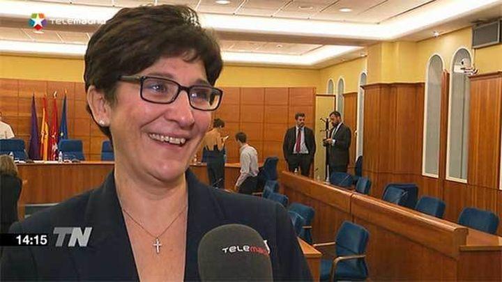 Susana Pérez alcaldesa en funciones de Pozuelo tras la renuncia de Adrados