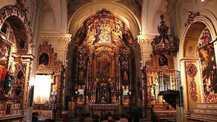 El monumento a Cervantes se descubre este jueves en el convento de las Trinitarias