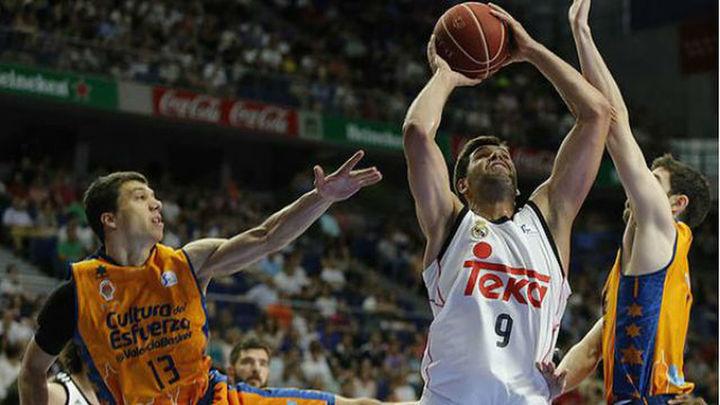 Primer match-ball del Madrid para alcanzar la final de la ACB