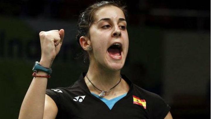 Carolina Marín arranca con victoria la Copa de Maestros de Dubai