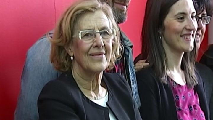 Ahora Madrid y PSOE cierra un acuerdo para que Carmena sea alcaldesa