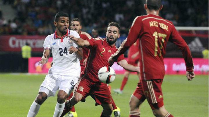 2-1. España remonta a Costa Rica en otra pitada a Piqué