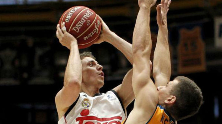 84-90. El Real Madrid, a la final de la Liga ACB