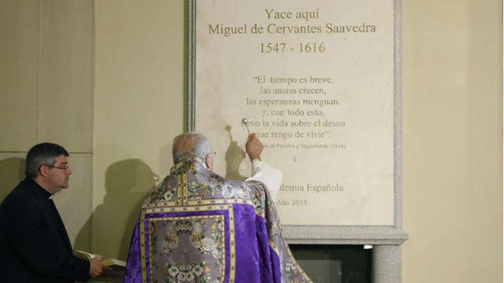 Horario especial este fin de semana en el monumento funerario de Cervantes