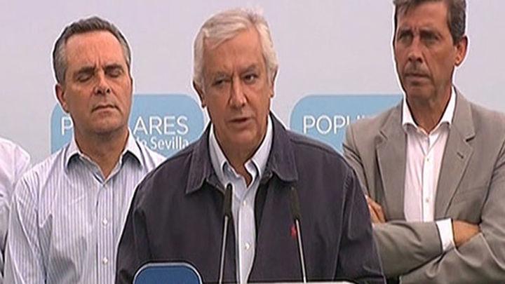 """Arenas: """"Gracias al PSOE radicales y extremistas gobiernan donde ganó el PP"""""""