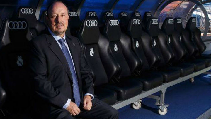 Los veteranos del Real Madrid dan la bienvenida a Benítez