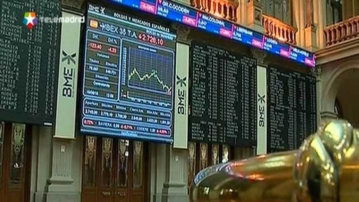 El Ibex 35 cede un 0,6% y cierra cerca de los 10.300 puntos