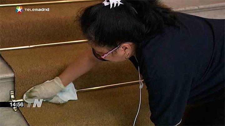 """Un 36,4% de las contrataciones de servicios de limpieza se ha realizado """"en negro"""""""