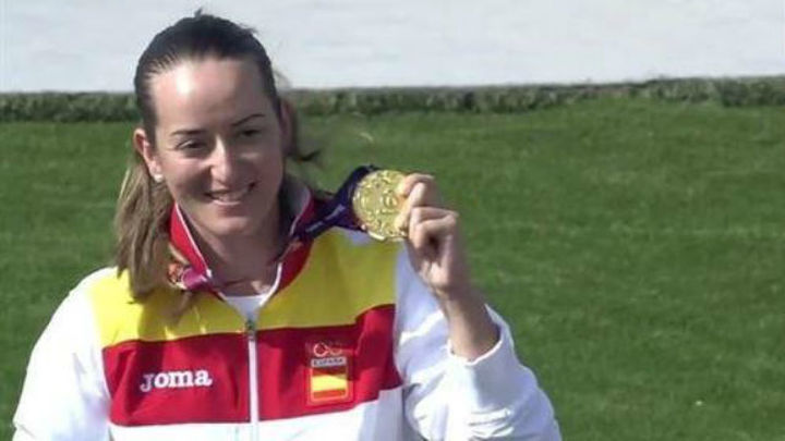 Bakú: La tiradora Fátima Gálvez da a España su tercer oro