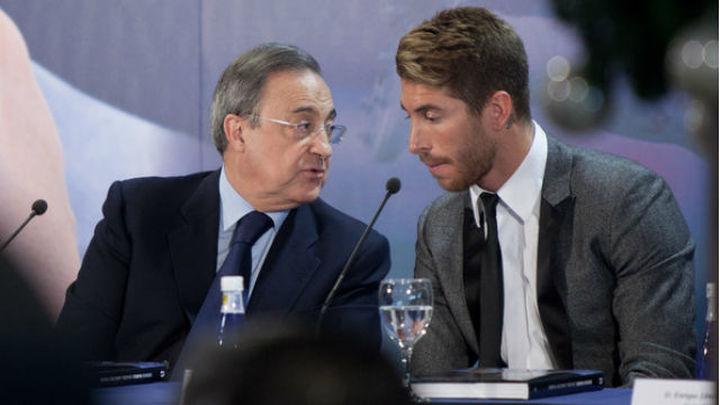 Florentino enfría la renovación de Sergio Ramos