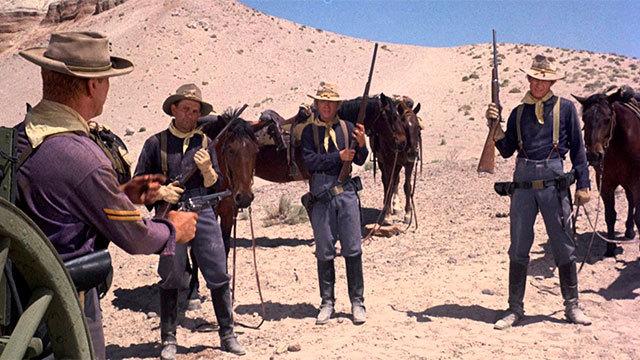Cine: 40 rifles en el paso apache