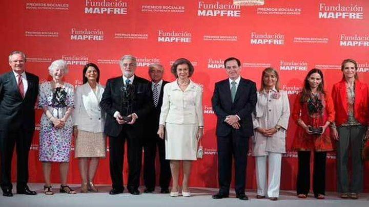 Plácido Domingo recibe el Premio Social 2014 de la Fundación Mapfre
