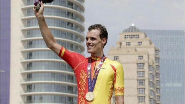 Luis León Sánchez, oro en ruta en Bakú