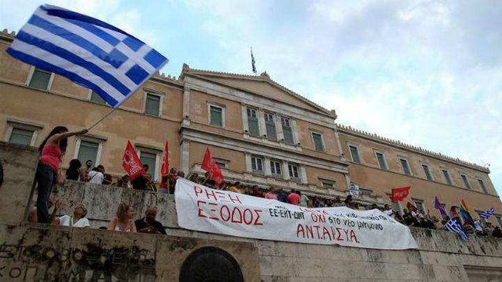 Primera huelga en Grecia bajo el Gobierno de Alexis Tsipras