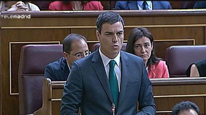 Sánchez le dice a Rajoy que ya no tiene credibilidad y él le recuerda la herencia