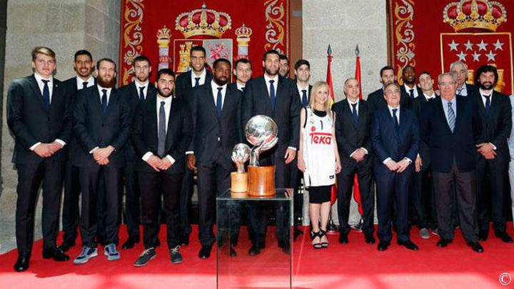 El Real Madrid ofrece la Liga en la Comunidad y Ayuntamiento
