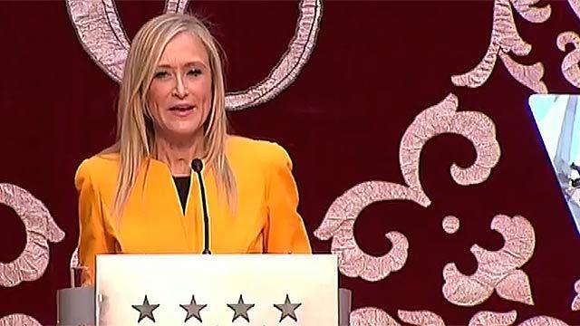 Toma de posesión de Cristina Cifuentes como nueva presidenta de la Comunidad de Madrid