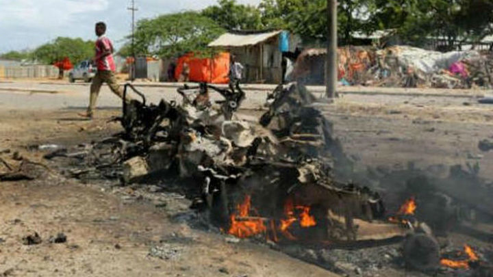 Decenas de muertos en un atentado de Al Shabab en una base de la UA en Somalia