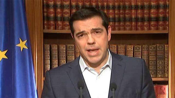 Tsipras pide el 'no' en referéndum pero dice que no se trata de salir del euro