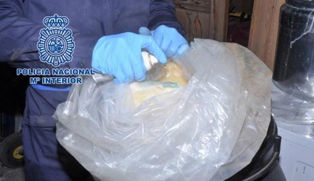 Los GEO asaltan un laboratorio de cocaína  en la sierra de Madrid