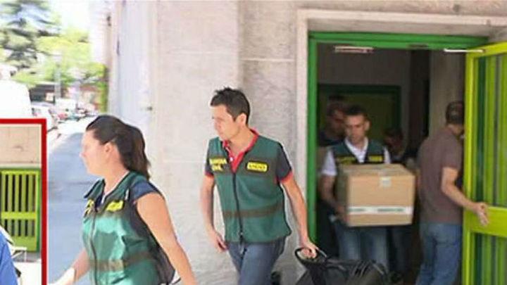 La Guardia Civil registra las sedes de UGT, en Madrid y Sevilla por los cursos