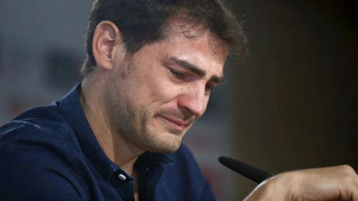 """Casillas: """"Gracias, gracias y miles de gracias"""""""