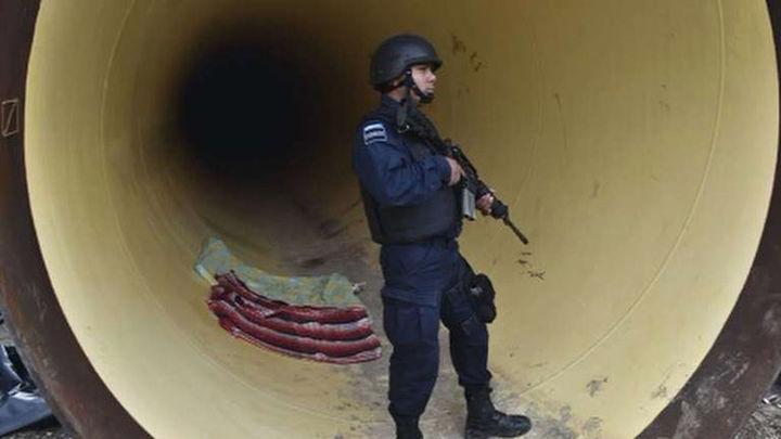Chapo Guzmán se escapó por un túnel hasta un domicilio ubicado a 1,5 kilómetros