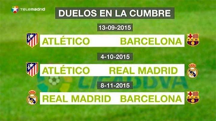 Sporting-Real Madrid y Atlético-Las Palmas, en la primera jornada de la Liga